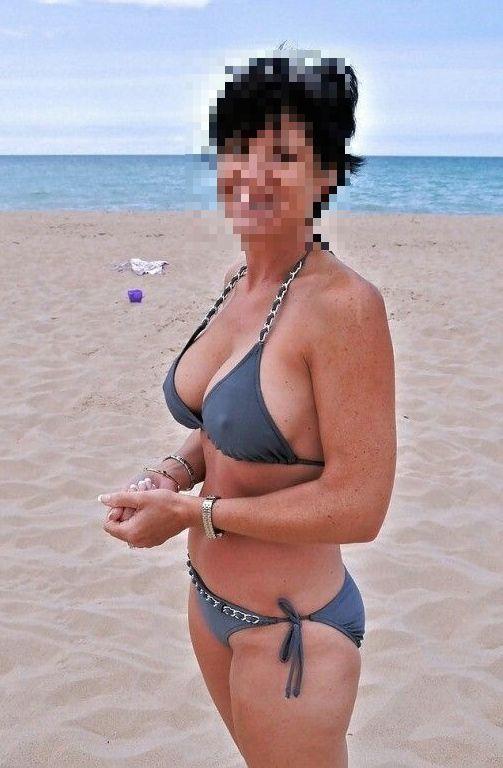 Femme mature naturiste